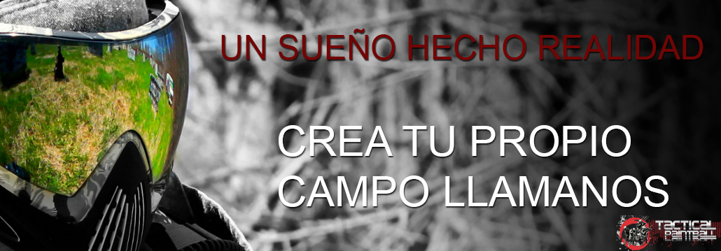 CREA TU CAMPO DE PAINTBALL