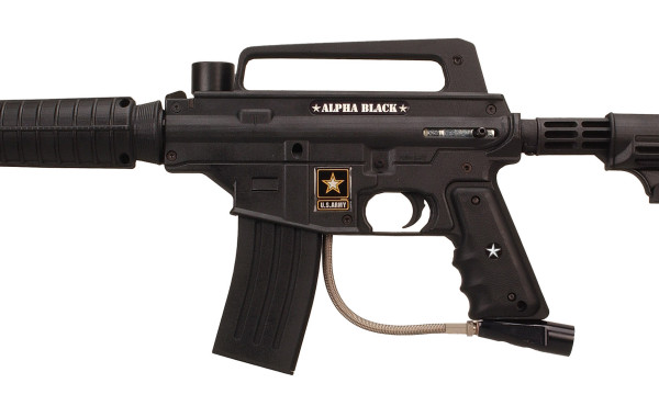 US ARMY ALPHA BLACK