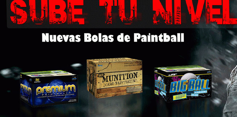 Como adquirir Bolas de Paintball